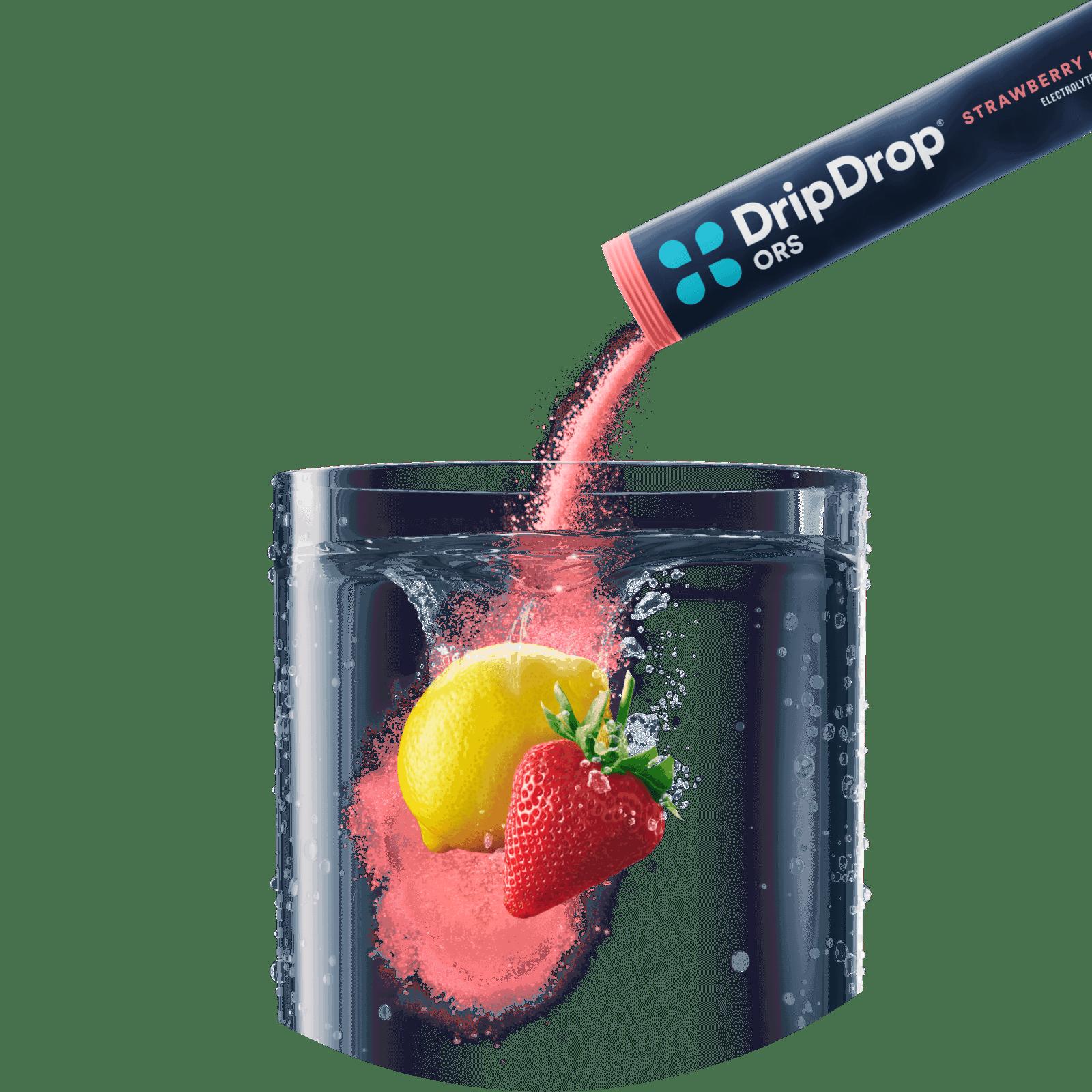 Strawberry Lemonade Pour
